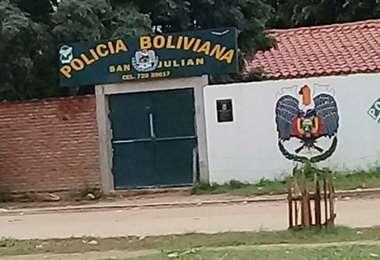 El hecho sucedió en el municipio de San Julián (foto: Néstor Lobera)