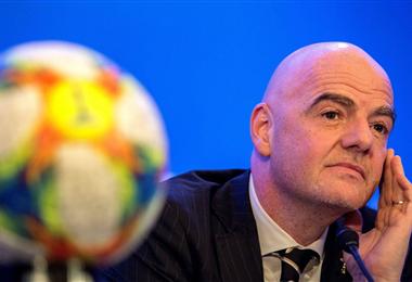 Infantino preside la FIFA