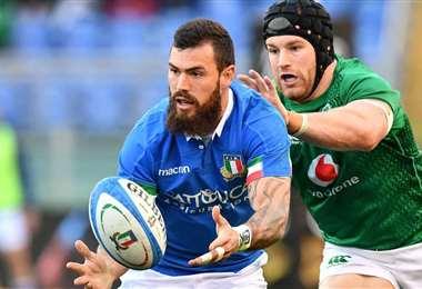 Hay decepción en el ambiente del rugby en Italia. Foto: Internet