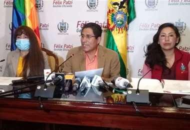 El gobernador de La Paz I Foto: Radio Líder.