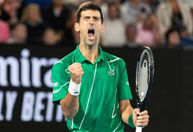 Djokovic anunció que mostrará su rutina de ejercicios diarios. Foto: Internet