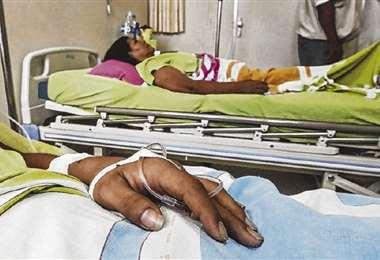 Antes del coronavirus el sistema de salud estaba colapsado por el poco presupuesto, este año el Gobierno asignó un 10 del PGE %/ FOTO: EL DEBER