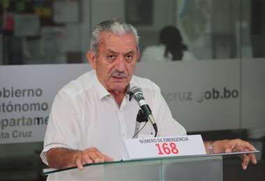Óscar Urenda informó sobre los pacientes, cuya salud de agravó