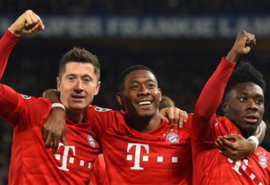 Bayern Münich, uno de los favoritos en la Copa