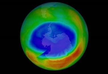 La paulatina recuperación de la capa de ozono I Foto: Clarín.