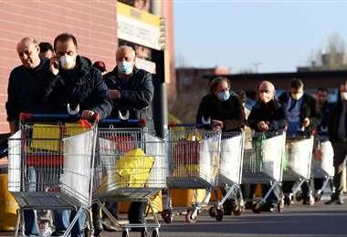 algunos supermercados han cerrado sus puertas