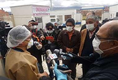 Autoridades recorren poblaciones intermedias de La Paz I Foto: Gobernación.
