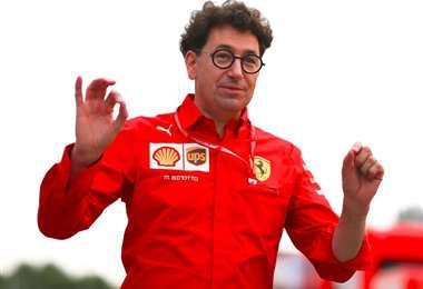 Mattia Binotto, es el jefe de la escudería italiana Ferrari. Foto: Interner