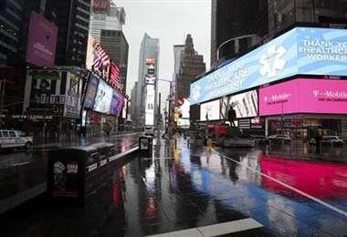 La actividad comercial en Nueva York es nula