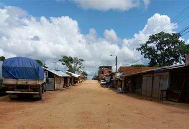 Este es el ambiente que se registró en Guarayos. Foto: Desther Ágreda