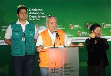 Óscar Urenda, secretario de Salud de la Gobernación. Foto: Gobernación