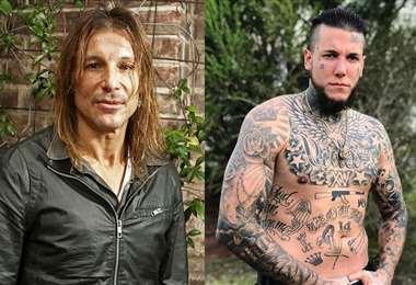 Claudio Caniggia y Alexander hace varios meses que rompieron relaciones. Foto: Internet