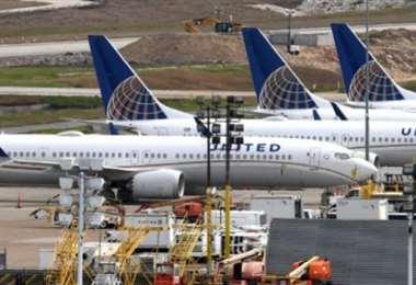 Los vuelos internacionales de las compañías estadounidenses han sido suspendidos