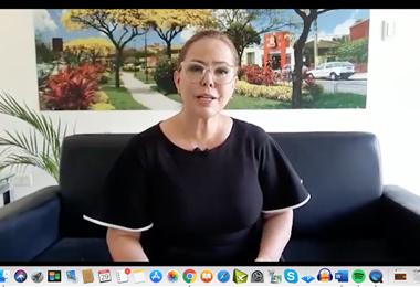 La presidenta del Concejo, en mensaje virtual/GM