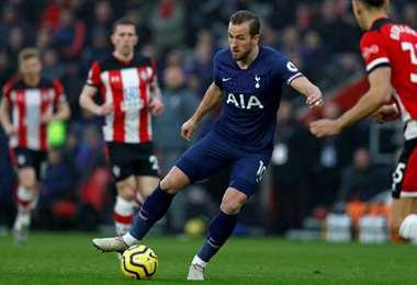 Harry Kane es delantero del Tottenham y de la selección inglesa. Foto: AFP