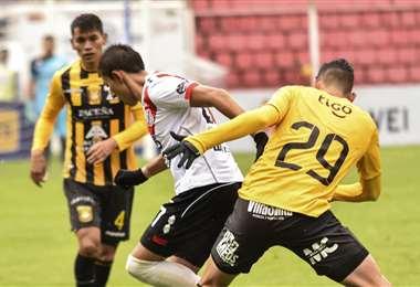 La derrota ante Nacional Potosí fue la detonante para la salida de Mauricio Soria del Tigre. Foto. APG Noticias
