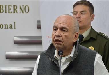 El ministro en rueda de prensa I Foto: Gobierno.