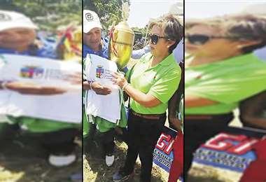 La candidata Ramos violó el decreto aprobado por Áñez