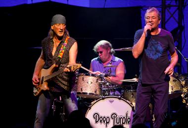 Deep Purple es una de las bandas que forman parte de la lista de conciertos disponibles