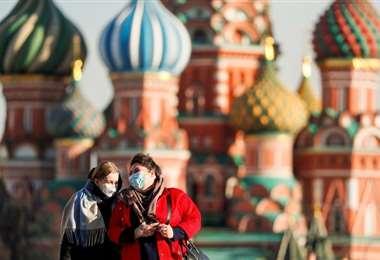 Rusia tiene 1.534 casos de contagio y ocho muertos