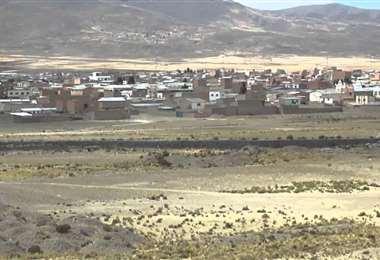 La población que se encuentra entre Oruro y La Paz I Foto: archivo.
