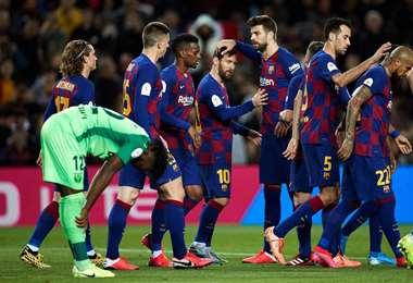 Los jugadores no quedaron contentos con el actuar de la dirigencia. Foto: Internet