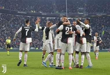 Entre tantas noticias malas, alguna buena recibió la 'Juve' de Turían. Foto: Juventus.com
