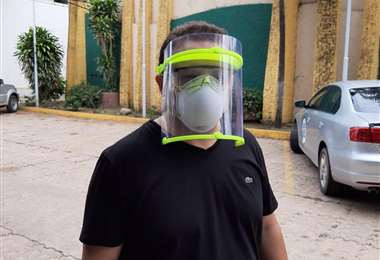 Proyecto de mascarillas de Respira Bolivia