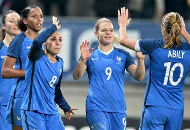 Francia es uno de los países que cuenta con una liga profesional de fútbol femenino. Foto: Internet
