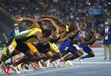 El atletismo es uno de los deportes más atractivos en los Juegos Olímpicos. Foto: Internet