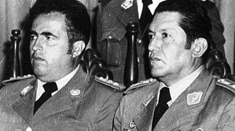 Los dos protagonistas del golpe de 1980