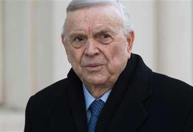 José Maria Marín en la corte federal de Brooklyn, Nueva York, durante su juicio el 13 de diciembre de 2017. Foto: Internet
