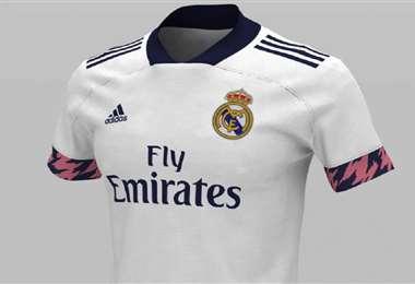 Así luce la camiseta que utilizará el equipo albo durante la próxima temporada. Foto: Internet