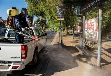 En chile también se reforzaron medidas preventivas para evitar la propagación del covid-19