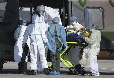 Estados Unidos concentra la mayor cantidad de contagiados con coronavirus a escala global