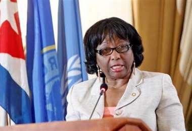 La directora de la Organización Panamericana de la Salud