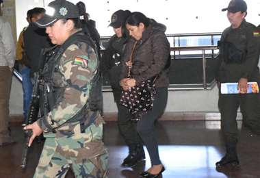 Terán cumplirá con la pena en el penal de Palmasola. Foto: Opinión