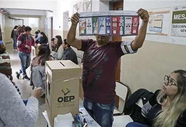 Los comicios favorecieron a Evo Morales I Foto: archivo.