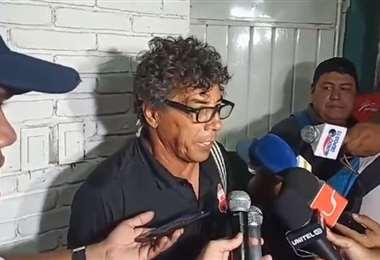 Víctor Hugo Andrada, director técnico de Guabirá. Foto. Fuad Landívar