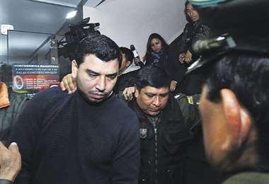 El exgerente de Entel, Marcelo Stelzer, está con detención preventiva en la cárcel de San Pedro (La Paz). Foto: APG Noticias