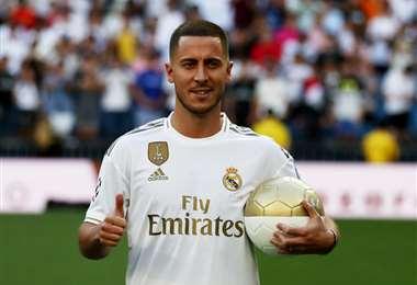 Hazard fue la contratación estrella del Madrid para esta temporada. Foto. Internet
