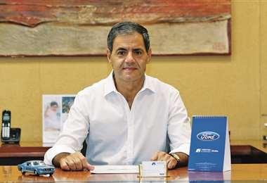 presidente de Christian Automotors, asumió el liderazgo de la Cámara Automotor Boliviana