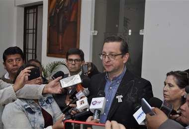 El legislador fue el más afectado I Foto: UD.