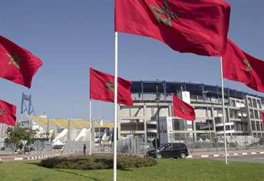 Los estadios lucirán vacíos en Marruecos para evitar más contagio de la epidemia. Hasta el momento se reportaron dos casos confirmados de coronavirus en ese país africano. Foto. Internet