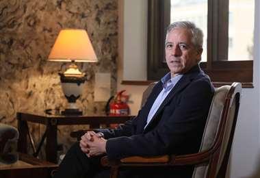 García contó detalles de lo que pasó previo a la entrega del infor