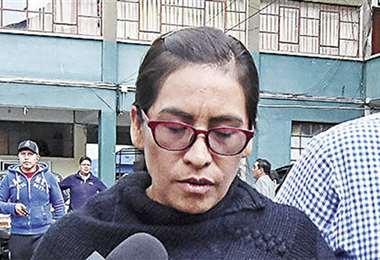 La exvocal del TSE Lidia Iriarte