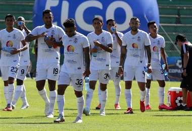 Real Santa Cruz viene de ganar a Royal Pari (0-2) en la fecha anterior. Foto. Fuad Landívar