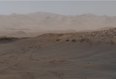 Imagen panorámica de Marte (Captura de pantalla NASA)