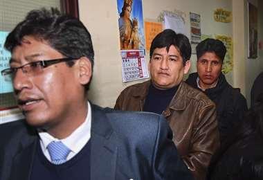 El dirigente afín al MAS dejó la cárcel I Foto: APG Noticias.