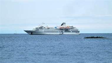 El choque ocurrió cuando se le efectuaba un procedimiento de control de tráfico marítimo